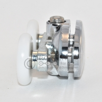 Obere Doppelrolle B35 für duschkabinen